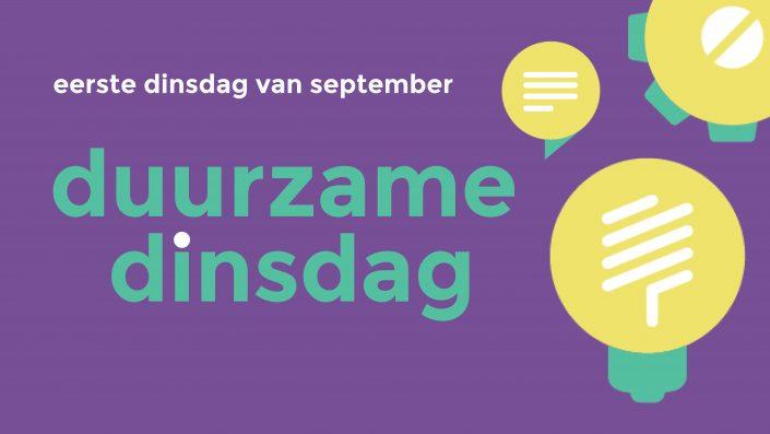 Duurzame Dinsdag - Banner