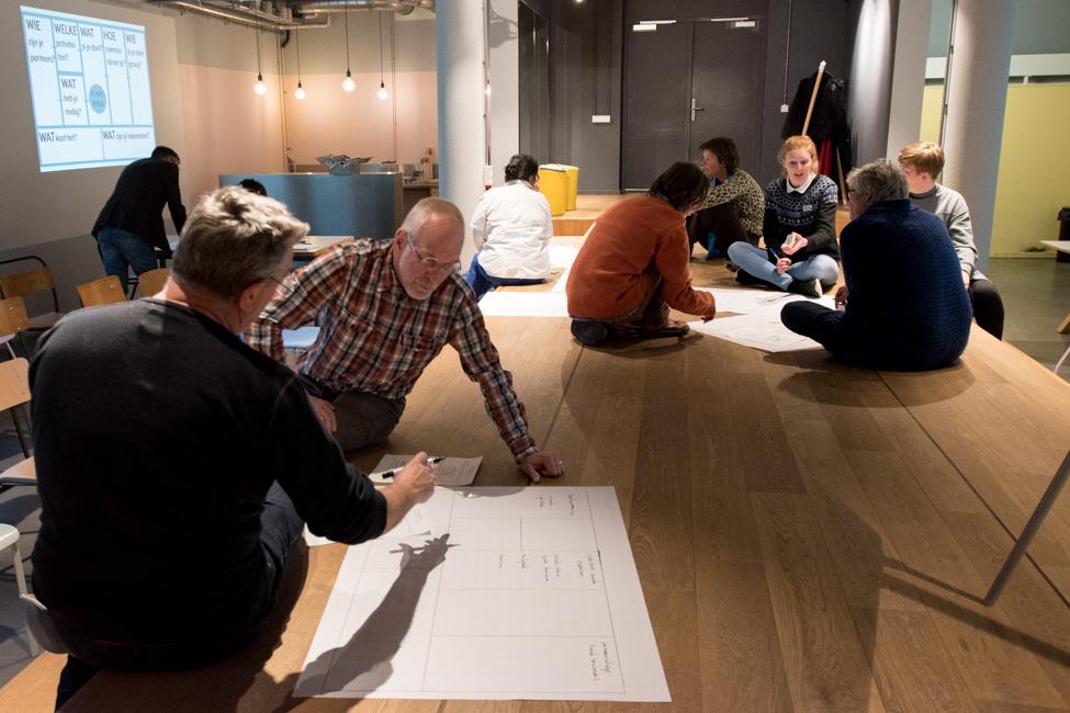 Business Model Canvas toegepast bij Haagse initiatieven - Masterclass 02