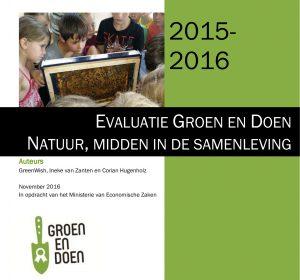 Evaluatierapport Groen en Doen 2015 - 2016 pdf