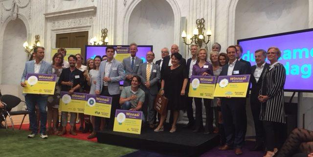 Prijswinnaars Duurzame Dinsdag prijzen