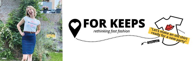 For Keeps - rethinking fast fashion