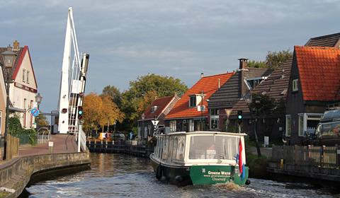 Groene Wensboot